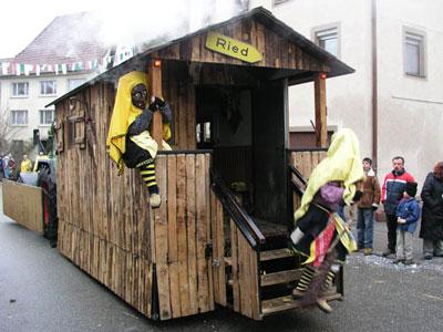Hexenwagen der Bildechinger Riedhexen