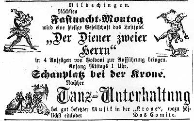 Horber Chronik vom 03.02.1883